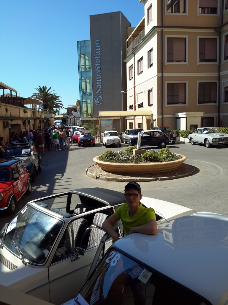 Auto al Santo Stefano