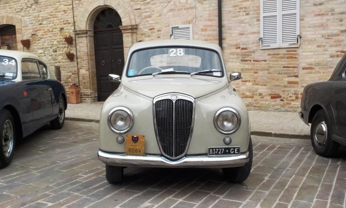 Marziali Alessandro Lancia Appia 1955