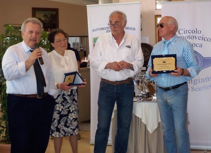 Terenzi Paolo riceve 5° memorial Giammarini